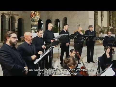 GESUALDO - Sacrae Cantiones Quinque Vocibus (Album trailer) - Odhecaton & Paolo da Col