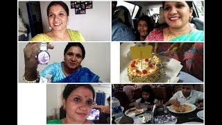 My Birthday Vlog/surprise gifts/midnight cake cutting/Indianmom busy lifestyle/Birthday vlog