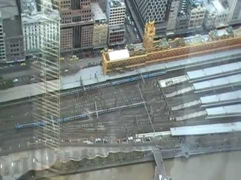 Melbourne view from Eureka tower (1)