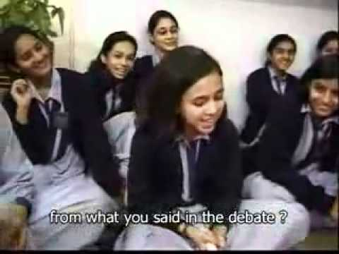 What Pakistani Girls think about INDIA - Amazing VIDEO !