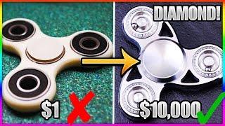 BEST Fidget Spinner HACKS and TRICKS! (Make ANY Fidget Spinner FASTER!!!)