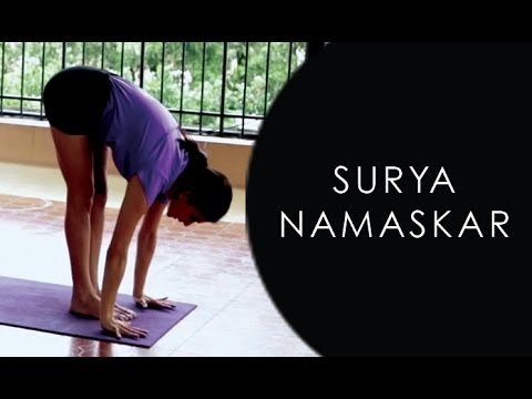 How To Do Surya Namaskar Yoga Step By Step video