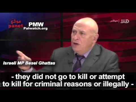 Arab member of Israeli Parliament justifies murder of Israelis by terrorists