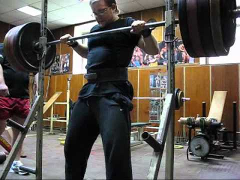 Hard RAW squat training 230kg x5rep x3set @97 drugfree Image 1