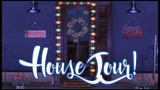 House Tour - Winter Edition!! (Second Life)