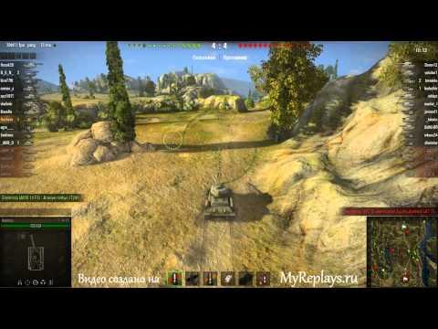 WOT: Монастырь - Т-34-85 - 6 фрагов -