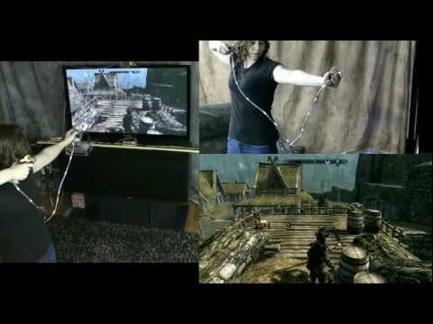 Skyrim Motion Sensitive Gaming with the Mad Genius Motion Capture System