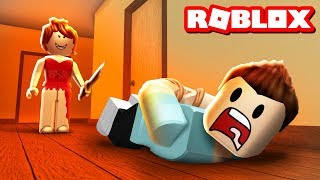 SURVIVE THE RED DRESS GIRL IN ROBLOX