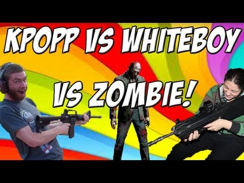 KPopp VS Whiteboy7thst - ZOMBIES PART 1