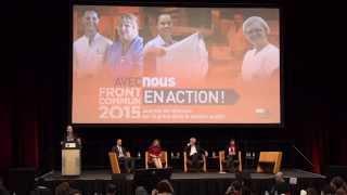 Débat sur la grève dans le secteur public - Front commun 2015