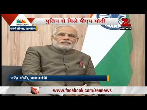 PM Narendra Modi meets Vladimir Putin, discusses bilateral relations