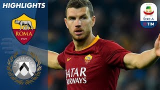 Roma 1-0 Udinese | Džeko goal moves Roma up to 5th | Serie A