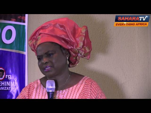 Future Gani Fawehinmi's Are Being Killed Young And Mysteriously - Mrs. Ganiat Fawehinmi