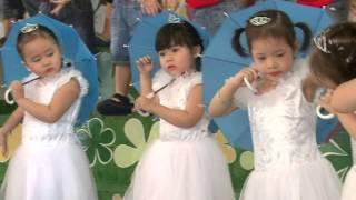 Múa Giọt mưa và em-Lớp Mầm 2 MG Bông Hồng