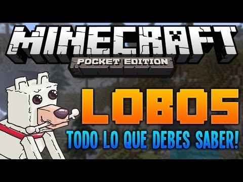 LOBOS | Minecraft PE 0.9.0 | Todo lo que necesitas saber!