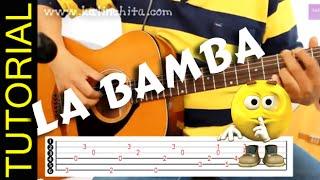 Como tocar LA BAMBA en guitarra cover acordes letra