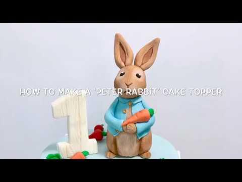 Peter Rabbit  Cake Topper
