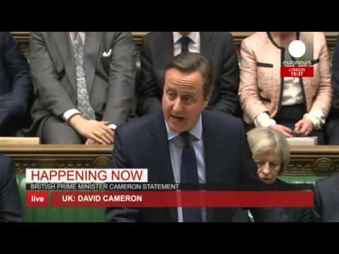 LIVE: David Cameron addresses UK House of Commons re. EU Referendum