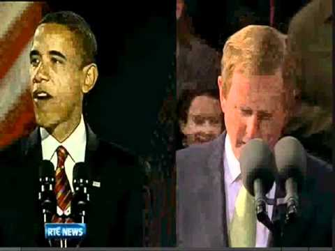 Enda Kenny And Barack Obama's Speech Similarities (23/5/11)
