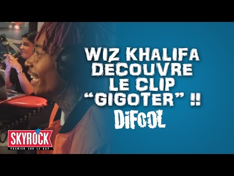 Quand Wiz Khalifa découvre le clip