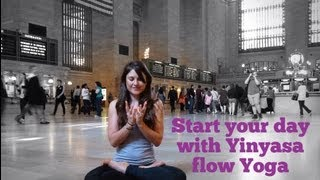 Start your morning with Vinyasa flow Yoga practice.