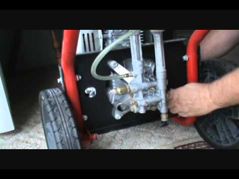 Pressure Washer Pump Repair Part 1 (how to) - YouTube