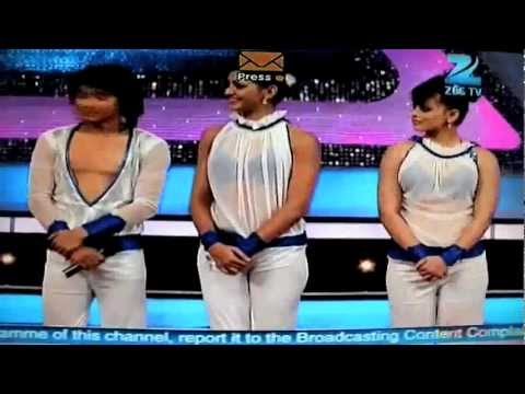 Sneha Gupta With Shakti Mohan And Pradeep Gurung In Dance India Dance Season 3,25th March 2012 video