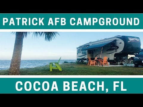 Campground Review: Patrick AFB near Cocoa Beach Florida