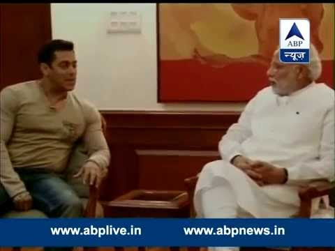 Bollywood superstar Salman Khan meets PM Modi in Delhi