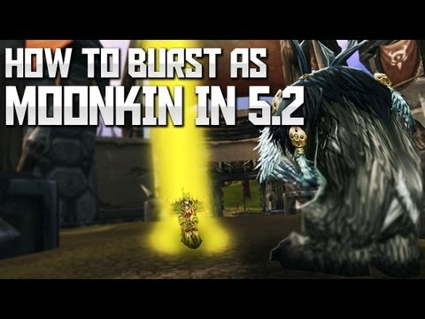 How to burst as a Moonkin in Mists of Pandaria - Razer giveaway!