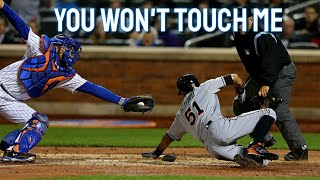 MLB | Avoiding Being Touched at Home Plate