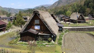 Japan Central Trip (2016 April) - Shirakawa-go Village / Kenroku-en / Omi-cho Market