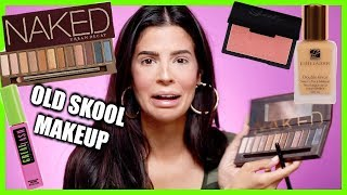 OLD SKOOL BEAUTY GURU MAKEUP... what were we thinking?