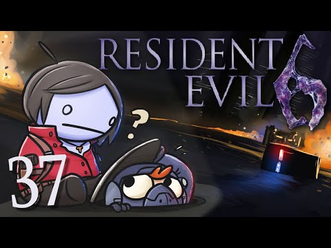 Resident Evil 6 /w Cry! [Part 37] - CryBot vs. Sleepytime