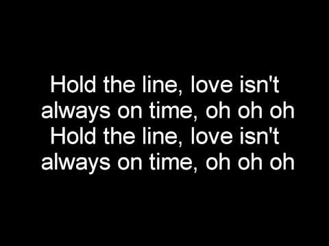 Toto - Hold the line (lyrics)