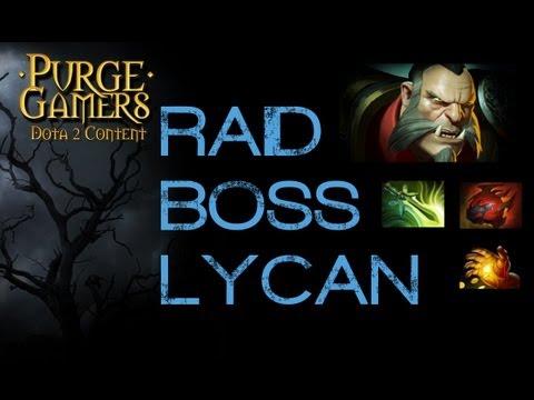 Dota 2 Purge plays RaidBoss Lycan