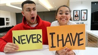 NEVER HAVE I EVER CHALLENGE WITH MY SISTER TIANA **CONFESSED**