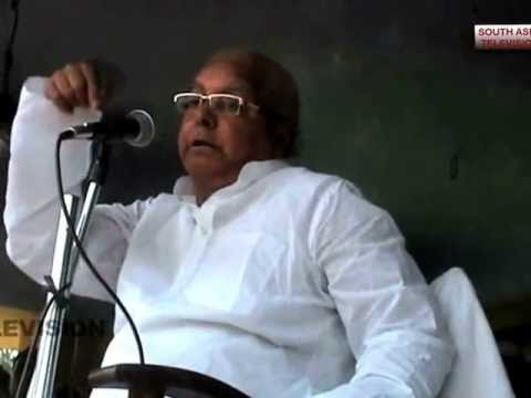 LALU PRASAD YADAV SLAMS NITISH IN HIS UNIQUE STYLE