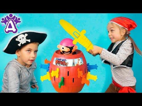 Пират в бочке и Друзяки Видео Для Детей Друзяки стали пиратами Детские видео и игры для детей 2016