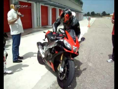 Aprilia RSV4 Factory @ Serres Video