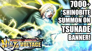 7000+ Shinobites on Tsunade Banner! | Naruto X Boruto Ninja Voltage