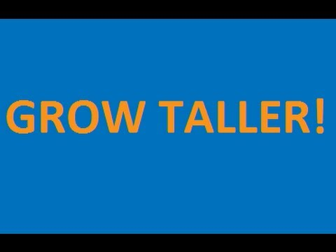 How to Grow Taller - Increase your Height (SUPER EASY!)
