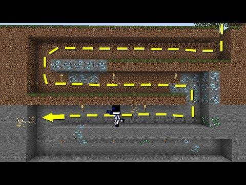 СОРЕВНОВАНИЯ ПО ПОИСКУ ЗОЛОТА! КТО НАБЕРЁТ БОЛЬШЕ ВСЕХ? - (Minecraft The Lab)