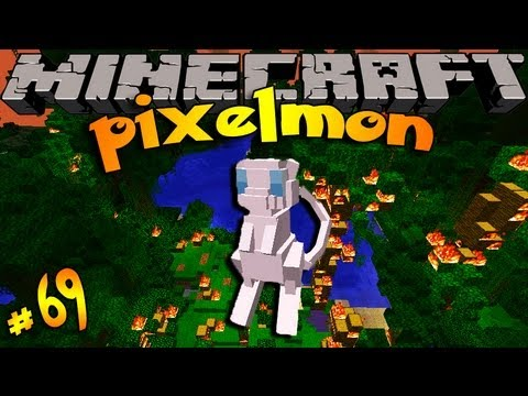 Pixelmon ! Minecraft Pokemon Mod!! Episode 69- MEW OUTPOST !!