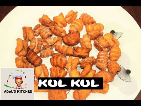 Kul kul recipe/ eggless kul kul recipe/goan christmas sweet recipe