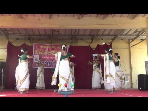 Thiruvathira Bbhs Nangiarkulangara - 2014 School Kalolsavam  Hs 1 Prize video