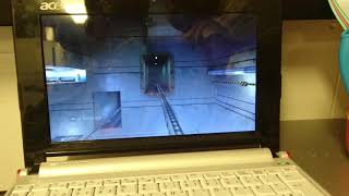 Half life steam puppy Linux on an acer aspire one
