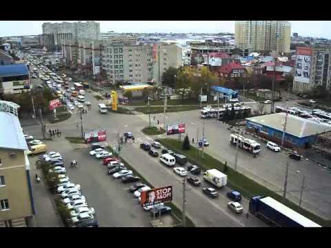 Кран врезался в троллейбус и скрылся с места ДТП (Ставрополь)