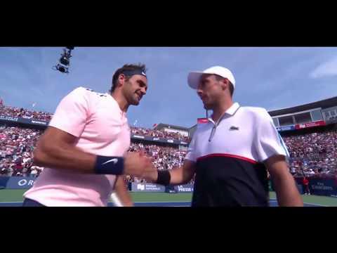 Roberto Bautista Agut vs Roger Federer |  Montreal 2017 QF Highlights