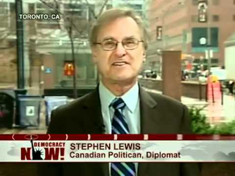Stephen Lewis Comments on Canadian Election Results & NDP Gains (Democracy Now!) Part 1 of 2